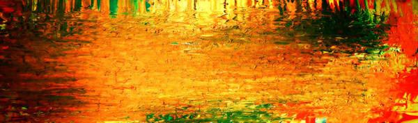 Painting - Feel Me Flow by Cyryn Fyrcyd