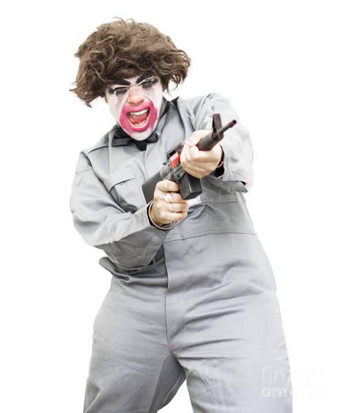 Gunfire Photograph - Female Psycho Killer by Jorgo Photography - Wall Art Gallery