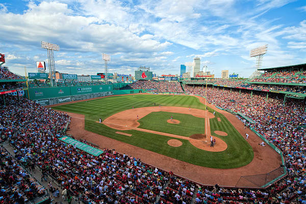 Photograph - Fenway Park by Mark Whitt