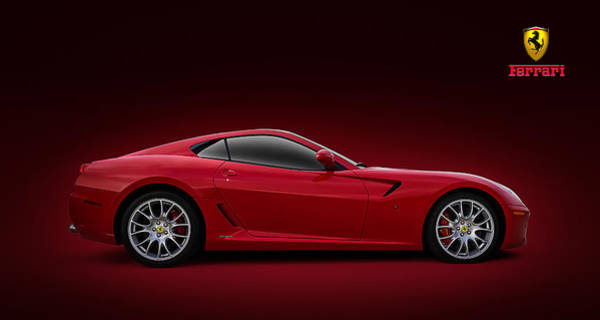 Ferrari Wall Art - Digital Art - Ferrari 599 Gtb by Douglas Pittman
