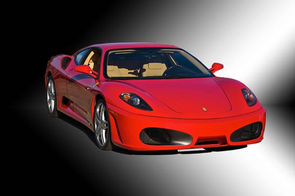 Wall Art - Photograph - Ferrari F430 'studio' by Dave Koontz