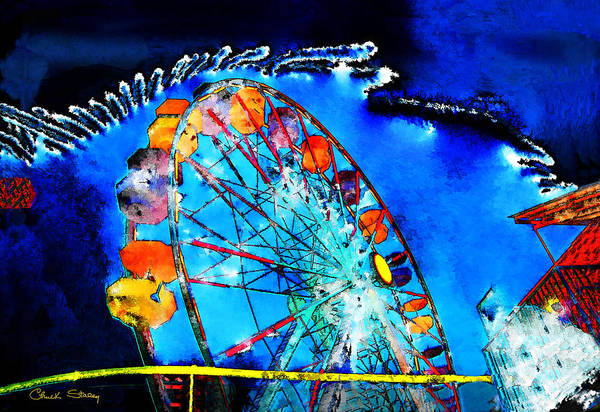 Photograph - Ferris Wheel by Chuck Staley