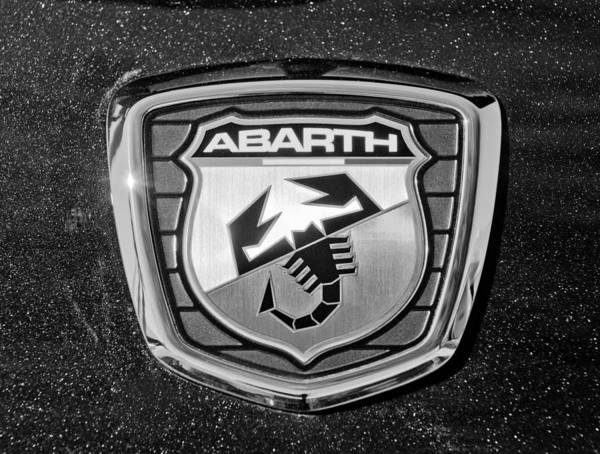 Photograph - Fiat Abarth Emblem by Jill Reger
