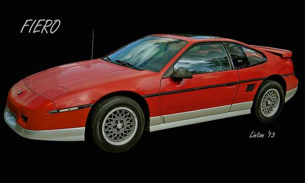 Photograph - Fiero by Larry Linton