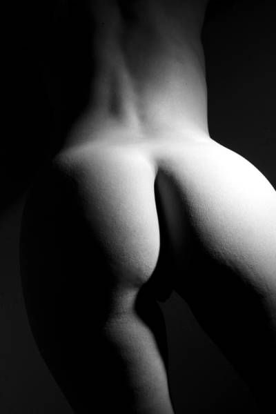 Butt Photograph - Figure Study by Joe Kozlowski
