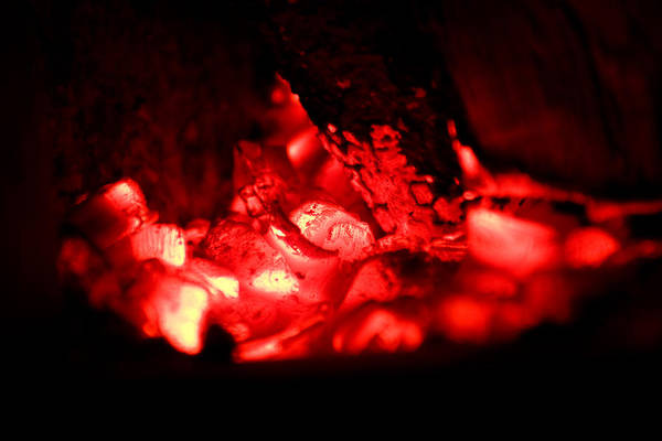 Flammable Wall Art - Photograph - Fire Abstract by Modern Abstract