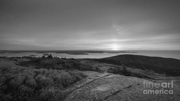 Michael Photograph - First Light Bw by Michael Ver Sprill