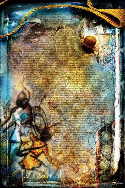 Sacred Heart Digital Art - First Samuel 1 by Switchvues Design