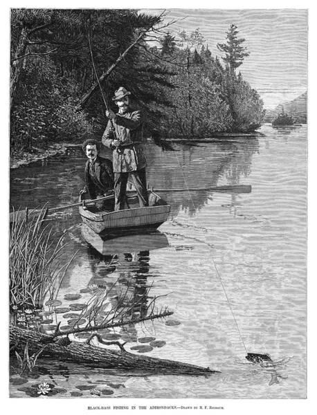 Wall Art - Painting - Fishing, 1884 by Granger