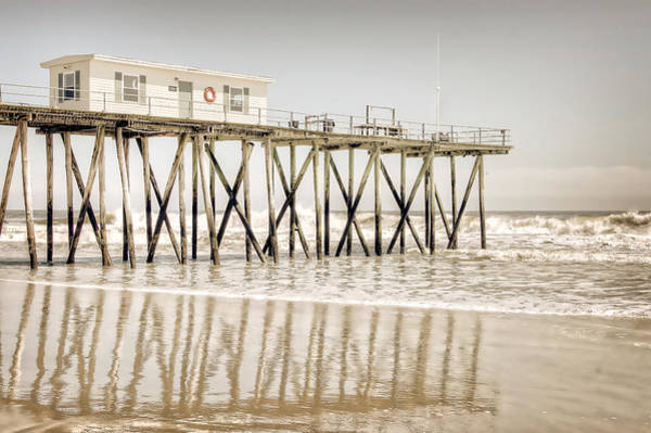 Photograph - Fishing Pier by Steve Stanger