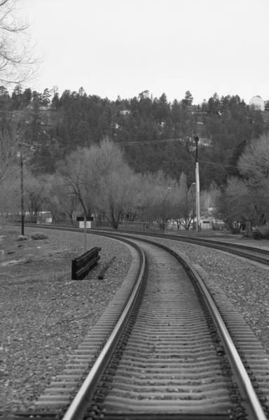 Photograph - Flagstaff Tracks by Steven Lapkin