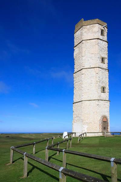 Photograph - Flamborough Old Lighthouse by Susan Leonard