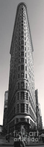 Photograph - Flat Iron Building by Gregory Dyer