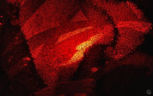 Wall Art - Digital Art - Floating Red by Gun Legler