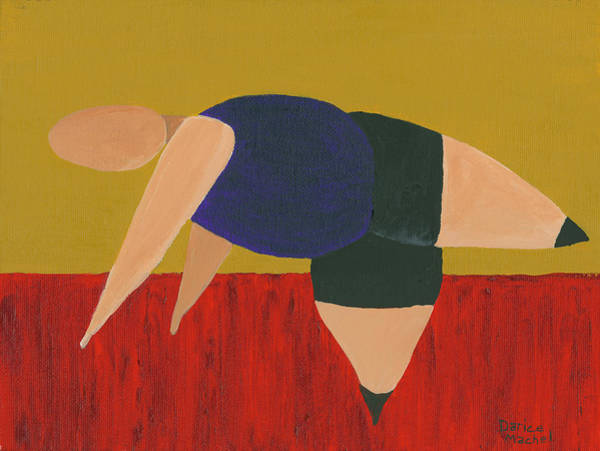 Painting - Floor Dancer 3 by Darice Machel McGuire
