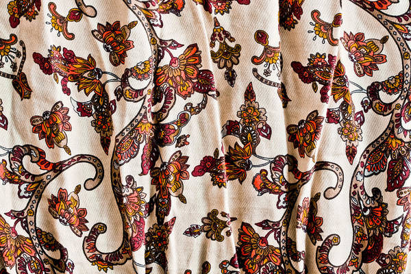 Adorn Photograph - Floral Pattern by Tom Gowanlock