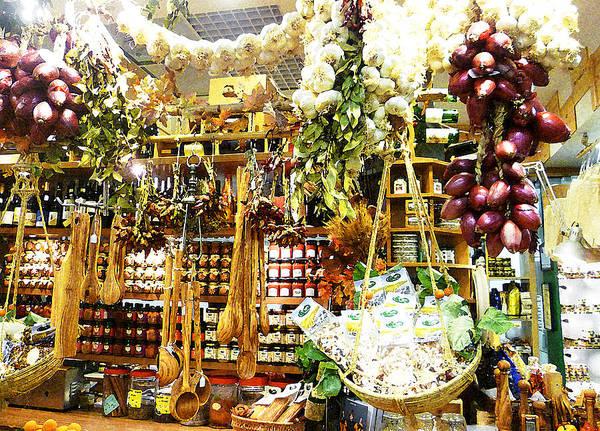 Thanksgiving Digital Art - Florence Market by Irina Sztukowski