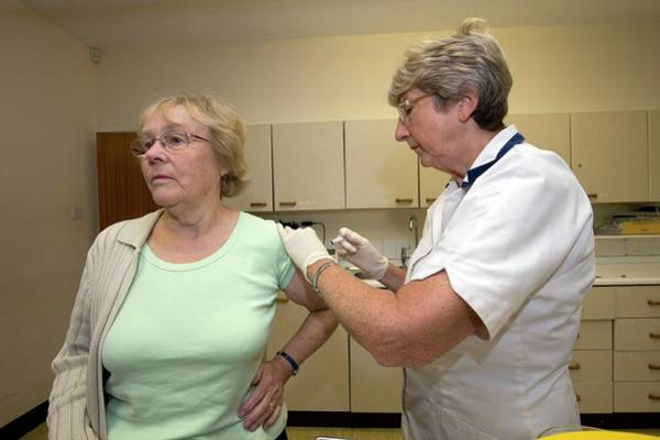 Flu Vaccination Art Print