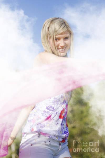 Photograph - Foggy Field Frolic by Jorgo Photography - Wall Art Gallery
