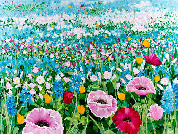 Painting - Foot Prints by Linda Rauch