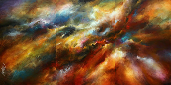 Blending Painting - 'force Of Nature' by Michael Lang