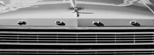 Wall Art - Photograph - Ford Grille Hood Ornament by Jill Reger