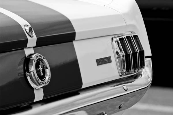Photograph - 1966 Ford Shelby Mustang Gt 350 Taillight by Jill Reger
