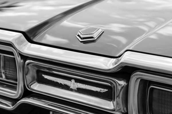 Tail Light Photograph - Ford Thunderbird Tail Lights by Jill Reger
