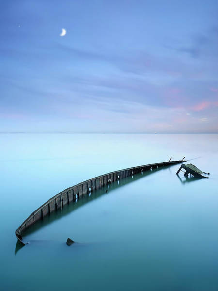 Ship Wreck Photograph - Forgotten... by Paulo Dias