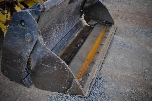 Dozer Photograph - Forklift Shovel by Brandon Bourdages