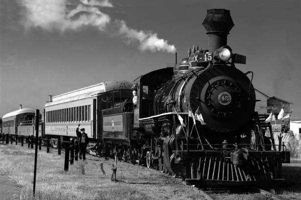 Photograph - Fort Bragg Skunk Train by William Havle