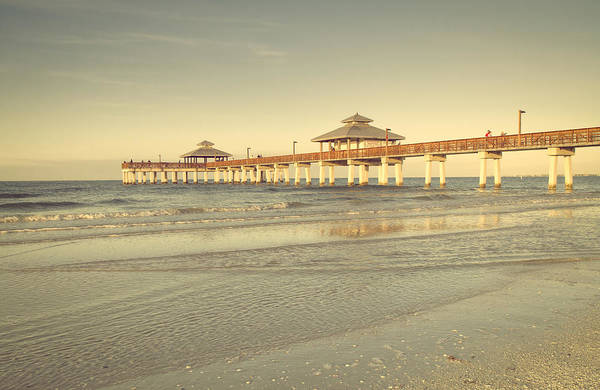 Photograph - Fort Myers Beach Pier by Kim Hojnacki