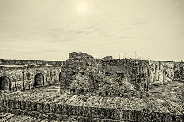 Photograph - Fort Pike Bastion 2 by Andy Crawford