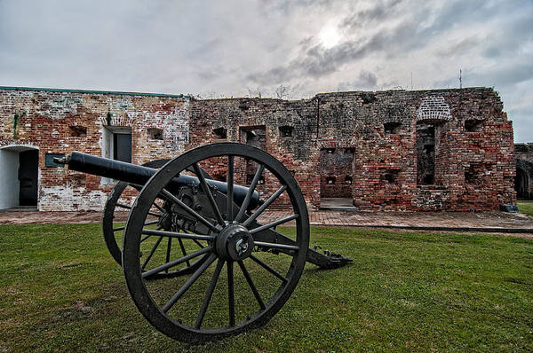 Photograph - Fort Pike Cannon by Andy Crawford