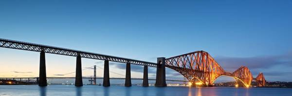 Photograph - Forth Bridge by Stephen Taylor