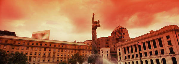 Cleveland Scene Photograph - Fountain Of Eternal Life, Cleveland by Panoramic Images