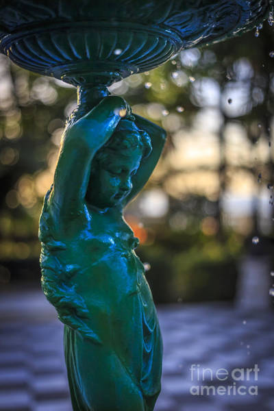 Photograph - Fountain On Genoese Park Cadiz Spain by Pablo Avanzini