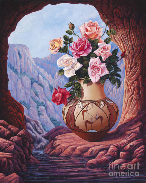 Wall Art - Painting - Fragrance And Dew by Ricardo Chavez-Mendez