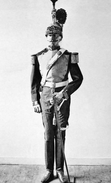 Epaulette Photograph - France Officer, 1857 by Granger