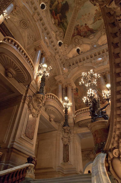 Wall Art - Photograph - France, Paris Interior Of Paris Opera by Jaynes Gallery