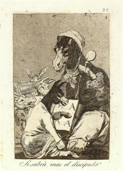Wall Art - Drawing - Francisco De Goya Spanish, 1746-1828. Si Sabrá Mas El by Litz Collection