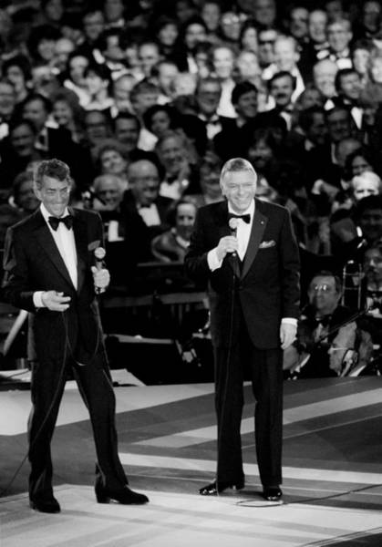 Center Stage Photograph - Frank Sinatra And Dean Martin by Mountain Dreams