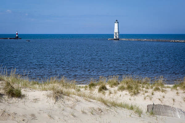 Photograph - Frankfort North Light - Frankfort Mi by Jack R Perry