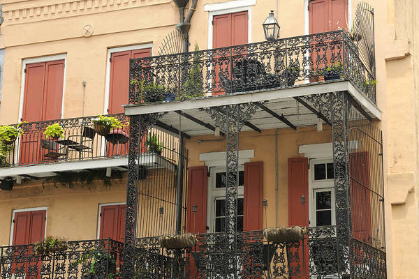 Photograph - French Quarter Balconies by Bradford Martin