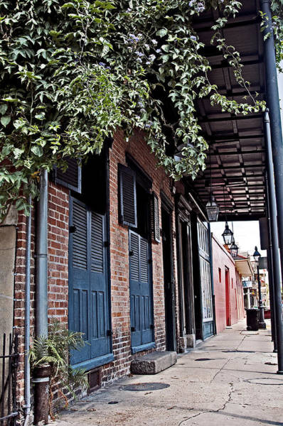 Photograph - French Quarter Sidewalk by Andy Crawford