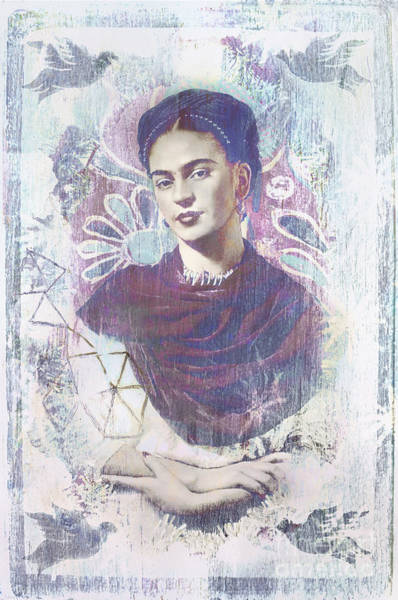 Photograph - Frida by Elena Nosyreva