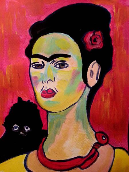 Painting - Frida Kahlo 3 by Nikki Dalton