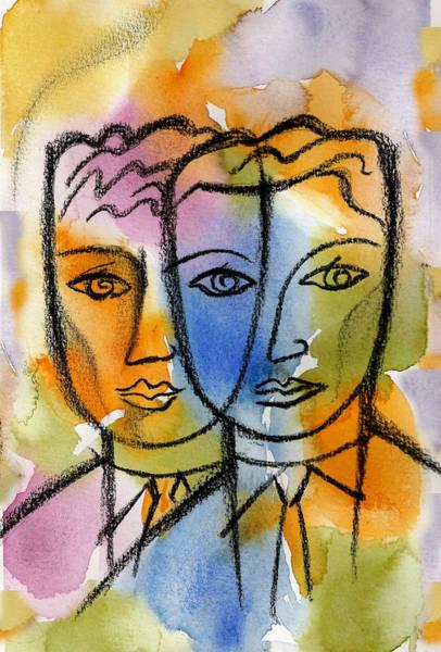 Association Painting - Friendship by Leon Zernitsky