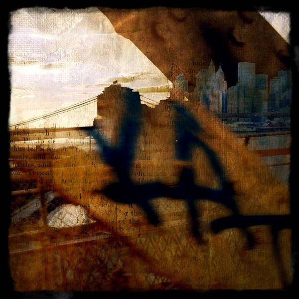 Photograph - From Manhattan To Brooklyn On The Q by Natasha Marco