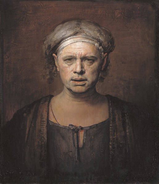 Serious Painting - Frontal by Odd Nerdrum